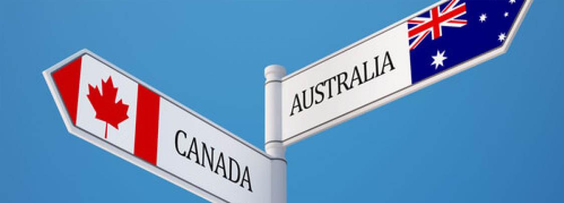Nên chọn định cư Úc hay Canada